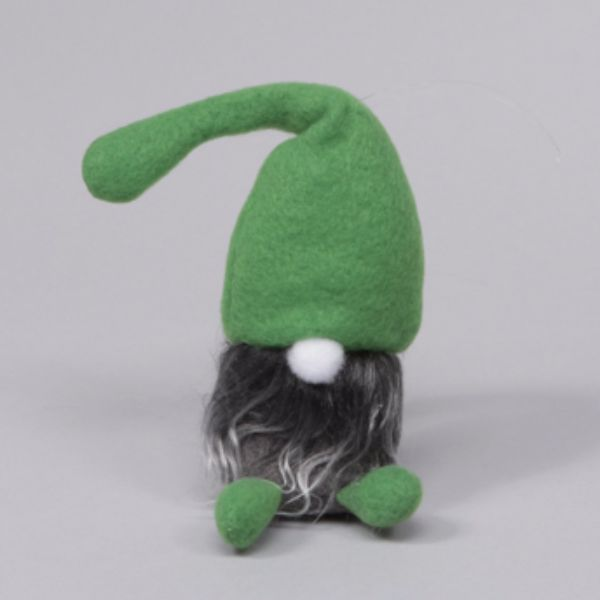 Textiltomte med grön luva - Heminreda.se
