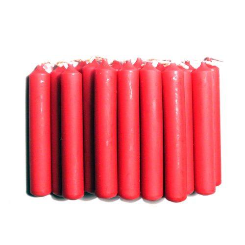 Julgransljus med juldoft. Förpackningen innehåller 20 st ljus. Diameter 1,3 cm, höjd 9,5 cm.