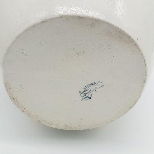 Blå-vitt syltkrus från Gustavsbergs porslinsfabrik.