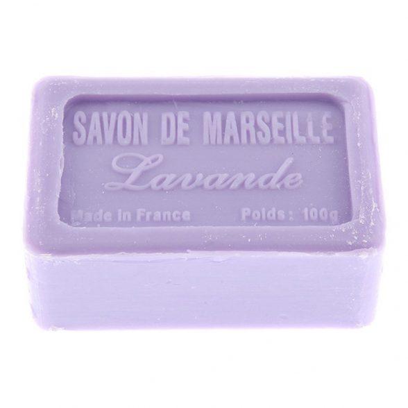 Tvål från franska Savon de Marseille med doft av lavendel.