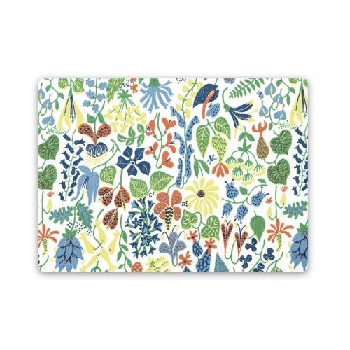 Bordstablett med Stig Lindbergs mönster Herbarium.
