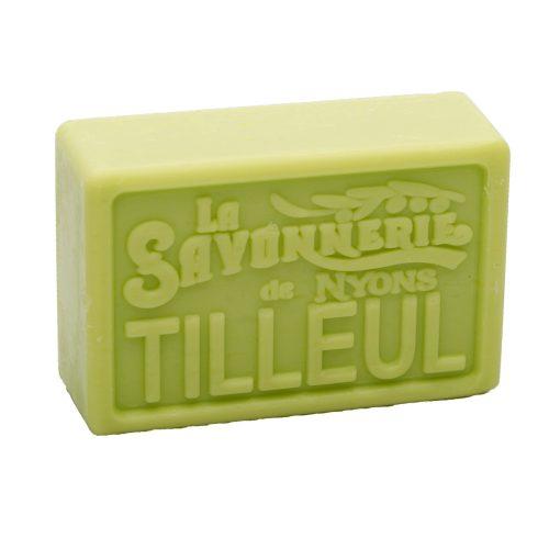 Tvål från franska La Savonnerie de Nyons med en fräsch doft av lime. 100% vegetabilisk.
