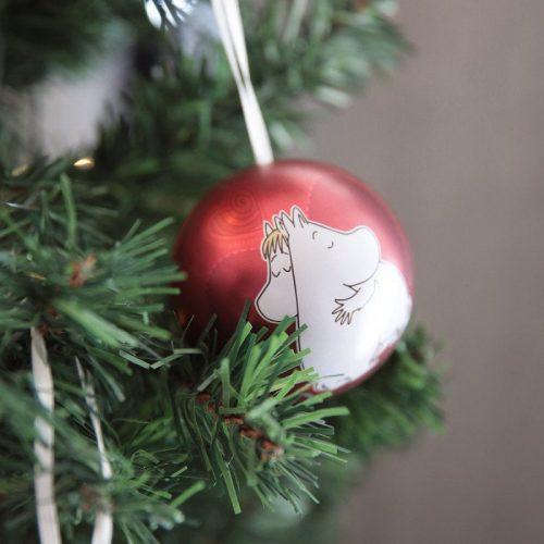 Öppningsbar julkula Mumin Ø 7 cm